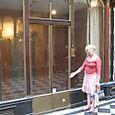 """""""my"""" storefront - for rent in Galerie Vero Dodat"""