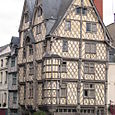 Tudor building in Angers (a nice town!)