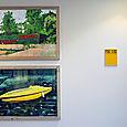Yvan Salomon's giant watercolors