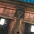 Harrods Egyptian Elevator Column