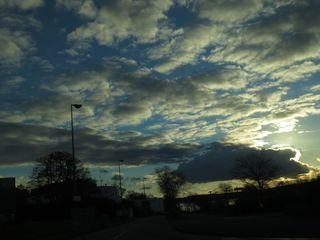 The damn sky