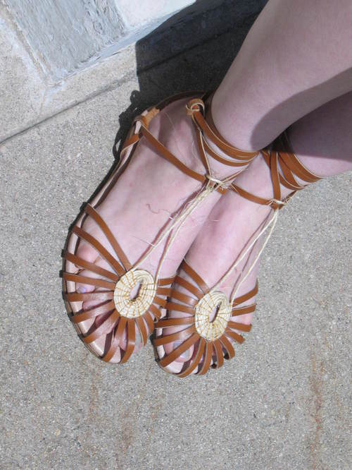 Ashley's Cote D'Azur Sandals