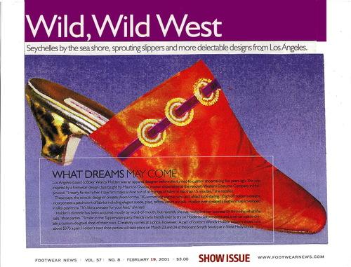 Footwear News 2001