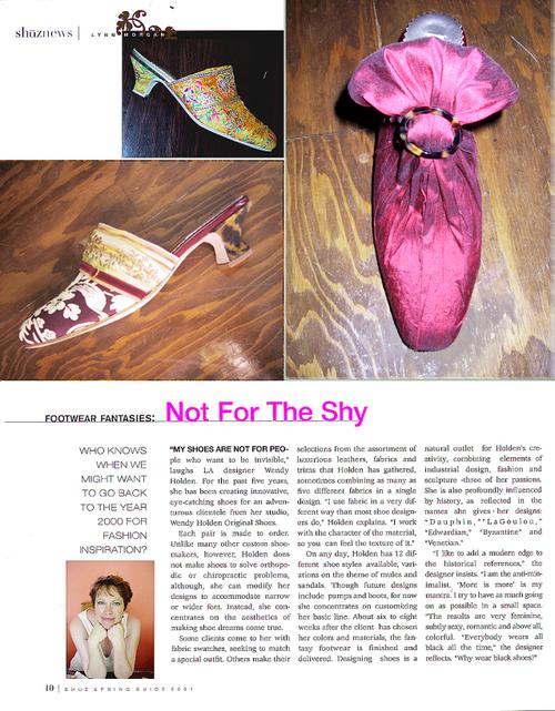 Shuz Magazine 2001